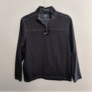 G.H. Bass & Co Top Pullover Shirt Quilted Thick